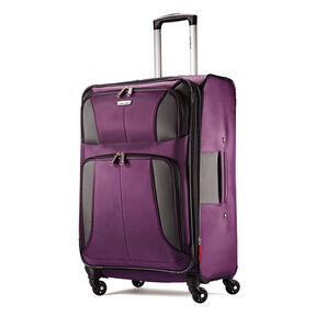 "Samsonite Aspire XLite 25"" Spinner in the color Potent Purple."