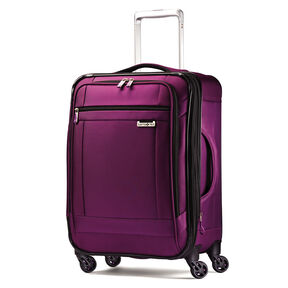 "Samsonite SoLyte 20"" Spinner in the color Purple Magic."