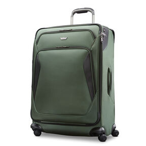 "Samsonite Armage 29"" Expandable Spinner in the color Forest Green."