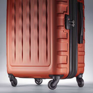 "Samsonite E-Volve DLX 28"" Spinner in the color Orange."