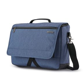 Samsonite Modern Utility Messenger Bag in the color Blue Chambray.