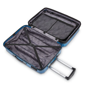"""Samsonite Winfield 3 DLX 25"""" Spinner in the color Blue/Navy."""