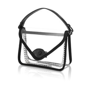 Samsonite Go Clear Convertible Crossbody in the color Clear.