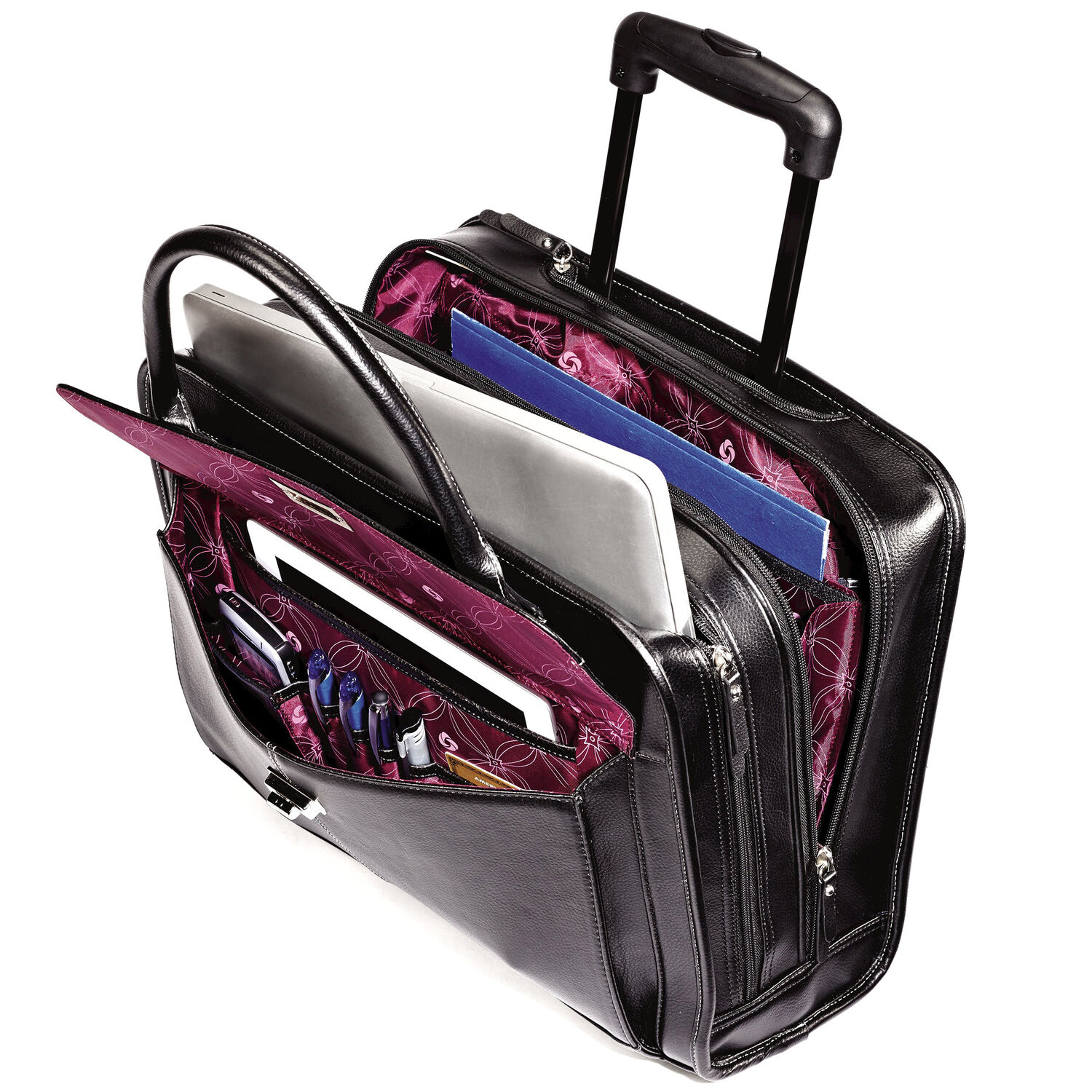 Samsonite Business Women  39 s Mobile Office in the color ... 70ee9c931495b