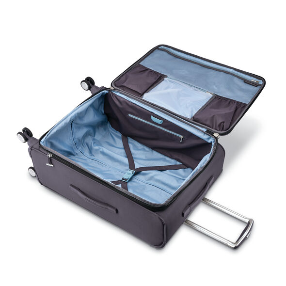 """Samsonite SoLyte DLX 25"""" Expandable Spinner in the color Mineral Grey."""