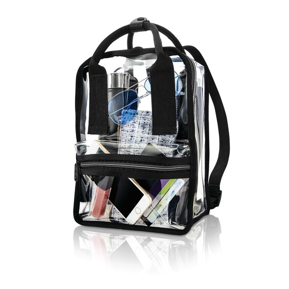 Samsonite Go Clear Convertible Tote Backpack in the color Clear.