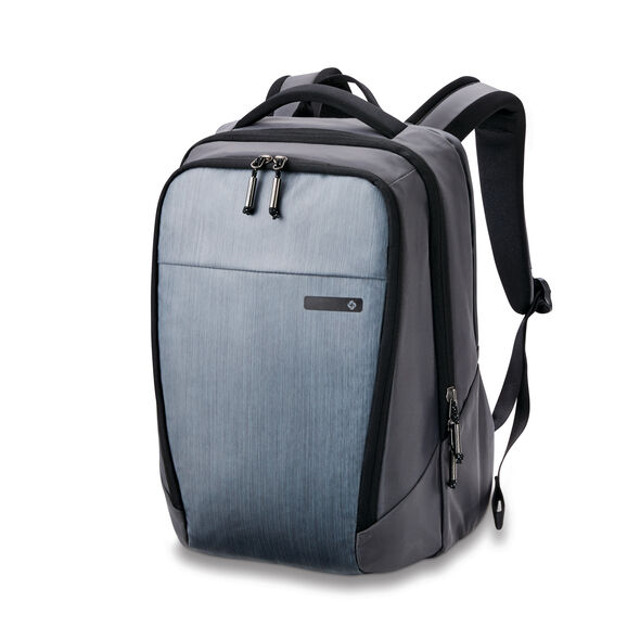 Samsonite Valt Standard Backpack in the color Flint Grey.