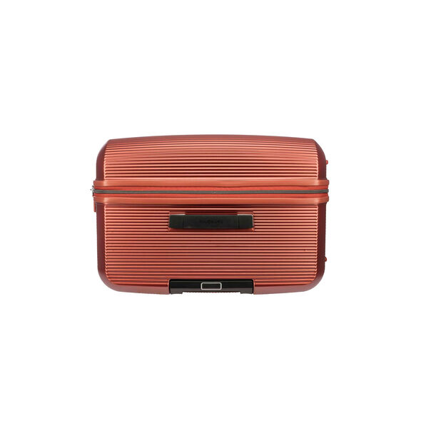 "Samsonite Arq 25"" Spinner in the color Matte Copper."