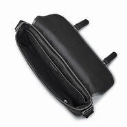 Samsonite Mens Leather 1910 Heritage Messenger in the color Black.
