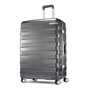 "Samsonite Framelock 28"" Spinner in the color Dark Grey."