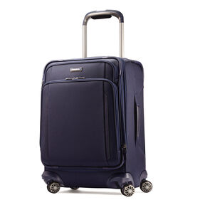"Samsonite Silhouette XV 21"" Spinner in the color Twilight Blue."