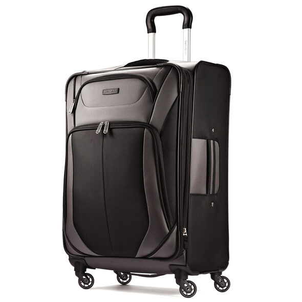 "Samsonite Elevation Xtreme 29"" Spinner in the color Black/Grey."