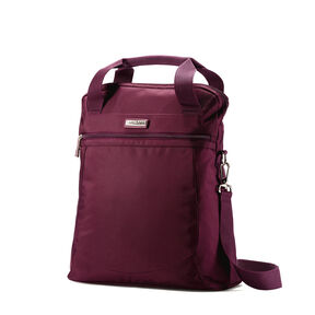 Samsonite Mightlight 2 Vertical Shopper in the color Grape Wine.