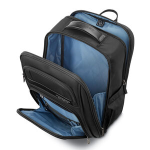 Executive Set 2 Piece Set (Backpack / Carry-On) in the color Black.