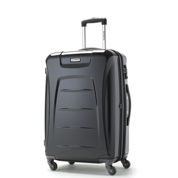 "Samsonite Momentum 28"" Hardside Spinner in the color Black."