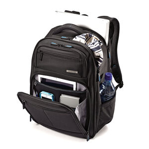 Novex Perfect Fit Laptop Backpack in the color Black.