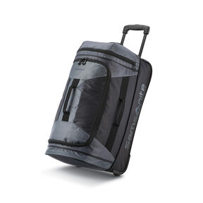 "Samsonite Andante 2 22"" Wheeled Duffel in the color Riverrock/Black."