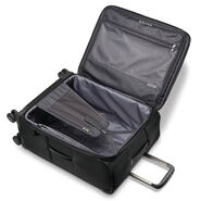 "Samsonite Silhouette 16 Expandable 25""  Spinner in the color Obsidian Black."