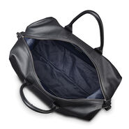 Samsonite Mens Leather Classic Duffel in the color Black.