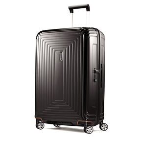 "Samsonite NeoPulse 28"" Spinner in the color Metallic Black."