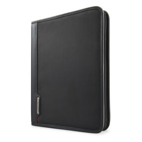 Samsonite Xenon Business 3 Ring Portfolio in the color Steel Grey.