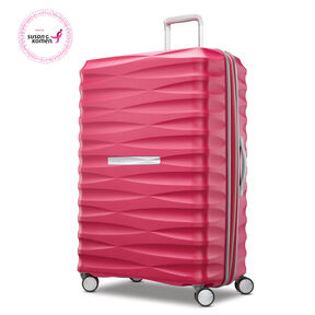 "Samsonite Voltage DLX 29"" Spinner in the color Pink."