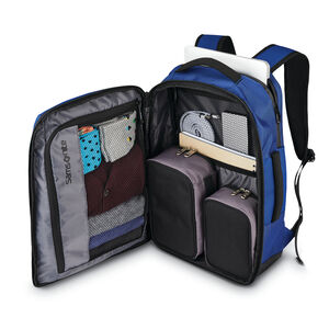 Detour Travel Backpack in the color Cobalt Blue.