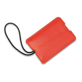 Samsonite Samsonite Vinyl ID Tag (Set of 2) in the color Varsity Red.