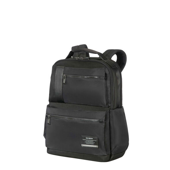 "Samsonite Openroad 15.6"" Laptop Backpack in the color Jet Black."