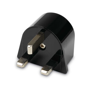 Individual Country Power Adapter Plugs - UK in the color Black.