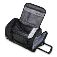 "Samsonite Detour 22"" Wheeled Duffel in the color Black."