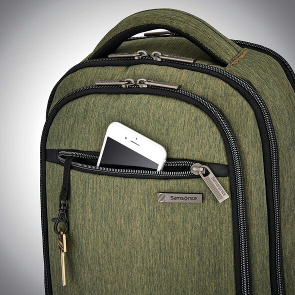 Samsonite Modern Utility Small Backpack in the color Olive.