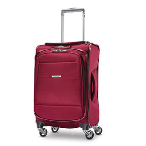 "Samsonite Eco-Nu 19"" Expandable Spinner in the color Raspberry."