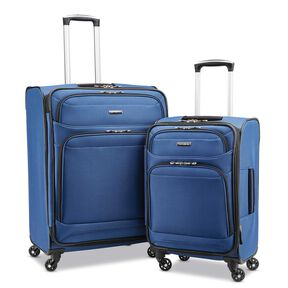 Samsonite StackIt™ Plus 2 Piece Set in the color Marine Blue.