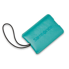 Samsonite Samsonite Vinyl ID Tag (Set of 2) in the color Emerald Teal.
