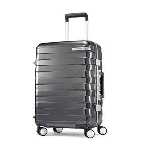 "Samsonite Framelock 20"" Spinner in the color Dark Grey."