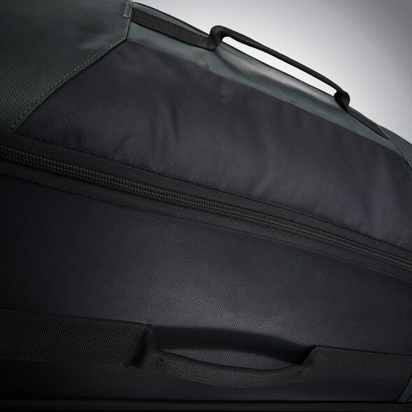 "Samsonite Andante 2 32"" Wheeled Duffel in the color Moss Green/Black."