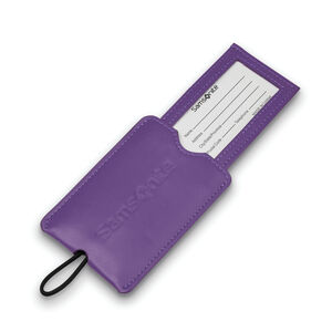 Vinyl ID Tag (Set of 2) in the color Ultraviolet.