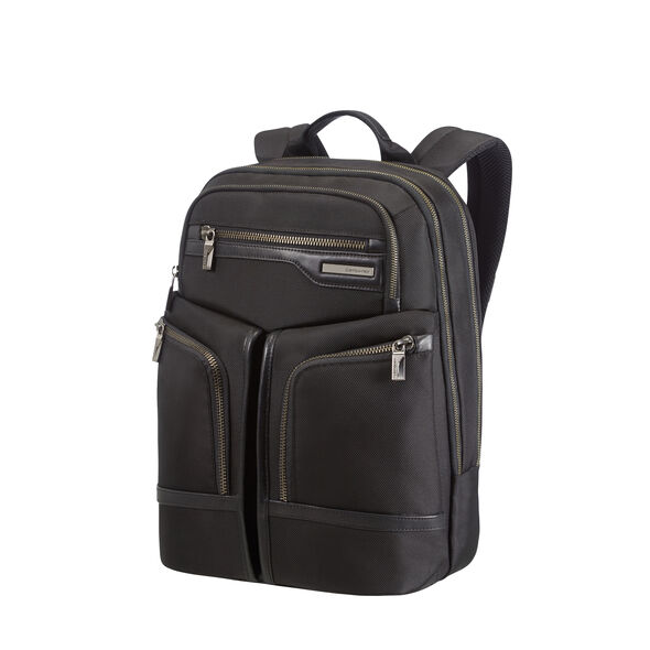 Samsonite GT Supreme Laptop Backpack 15.6 in the color Black/Black.
