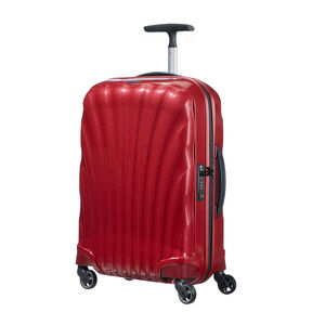 "Samsonite Black Label Cosmolite 3.0 20"" Spinner in the color Red."