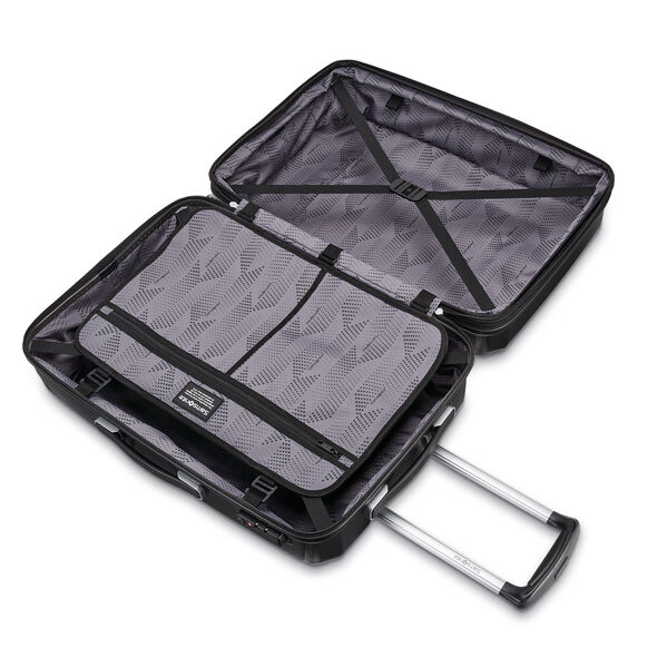 """Samsonite Winfield 3 DLX 20"""" Spinner in the color Black."""