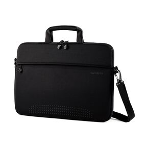 "Samsonite Aramon NXT 13"" Macbook Shuttle in the color Aramon Black."