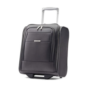 Samsonite Eco-Nu Wheeled Underseater Carry-On in the color Granite/Midnight Black.