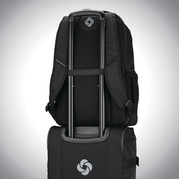 Samsonite Detour Travel Backpack in the color Black.