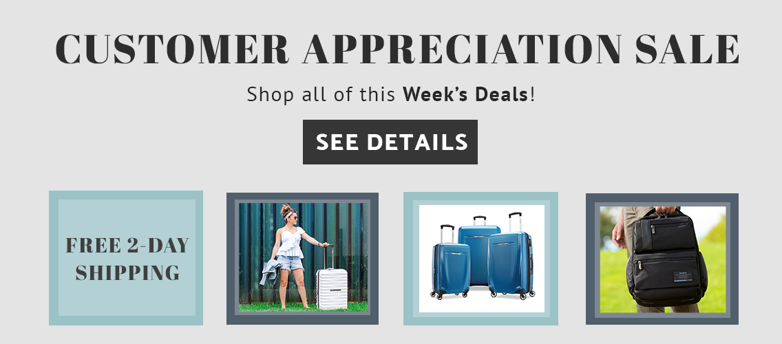 Customer Appreciation Sale. Click here to shop all of this week's deals now!