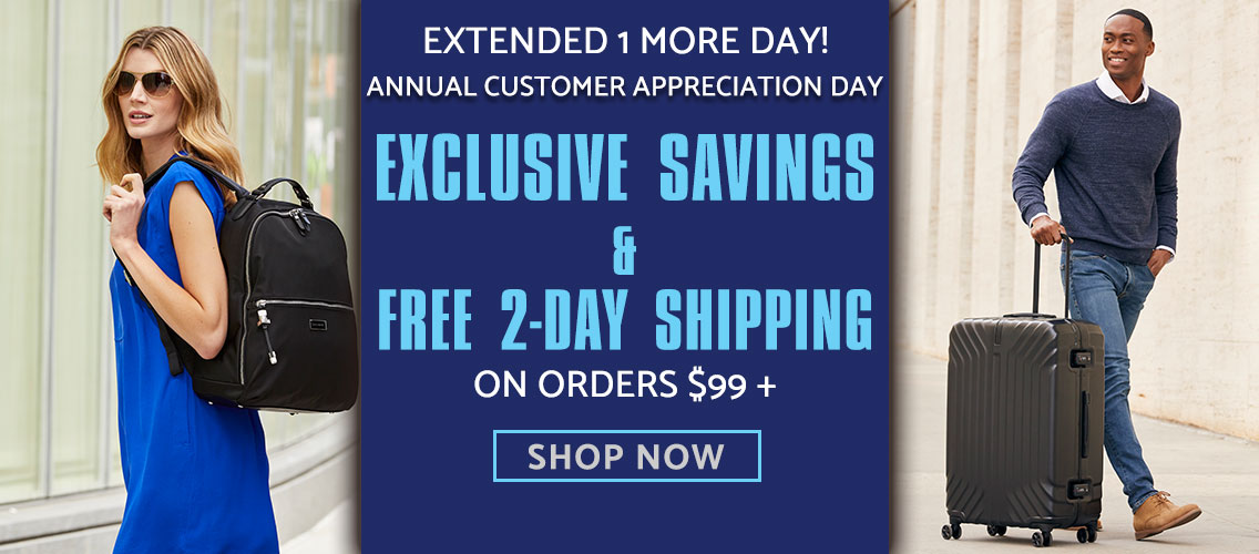 Extended 1 More Day - Customer Appreciation Day Sale! Up to 50% off Many Items, plus Free 2-Day Shipping on orders over $99. Use Code: VIPDAY