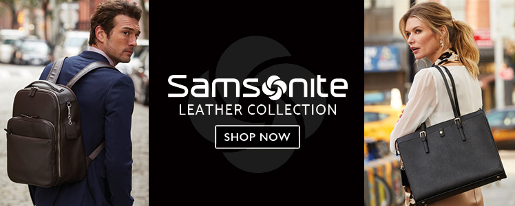 Samsonite's Leather Collections - Shop Now.