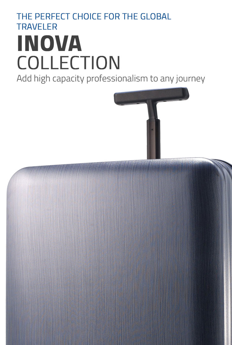Samsonite Inova Collection - The Perfect Choice for the Global Traveler. Shop Now.