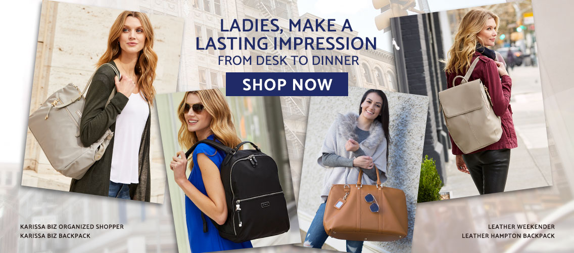 Ladies, Make a Lasting Impressions from Desk to Dinner with Samsonite Women's Bags. Shop Now.