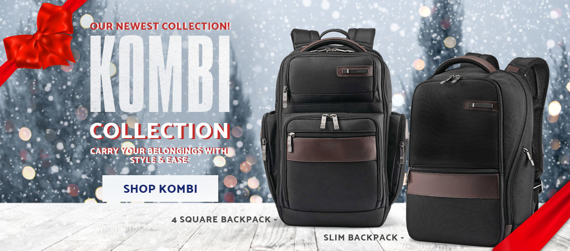 From the contrast lined interior, to the easy access openings, The Samsonite Kombi Collection will carry your belongings with style and ease. Shop Now.